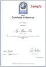 makeup course certificate 1